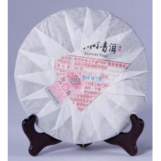 Шу Пуэр Блин Семи Сыновей Мэнхай №7599 Ци Цзы Бин ча, 2014 год, 357 гр, артикул 1879